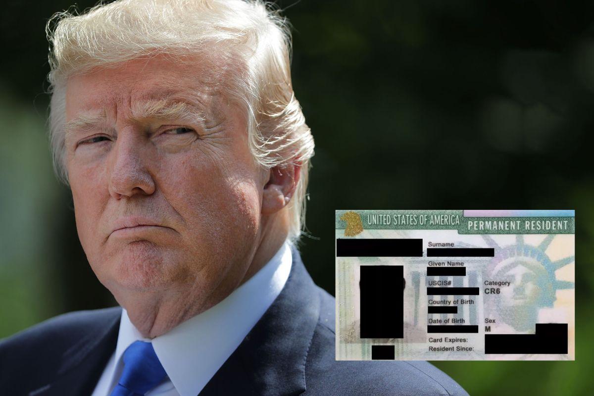 Trump busca restringir la entrada a inmigrantes legales