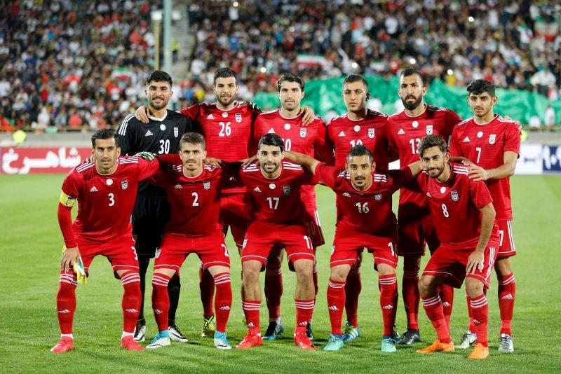 Plantel de jugadores de la selección de Irán en Rusia 2018