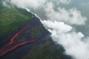 Volcán Kilauea: Por qué es peligroso que la lava llegue al mar