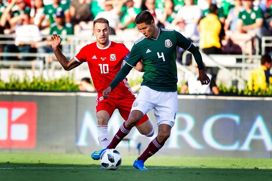 México decepciona ante un equipo juvenil de Gales rumbo a Rusia 2018