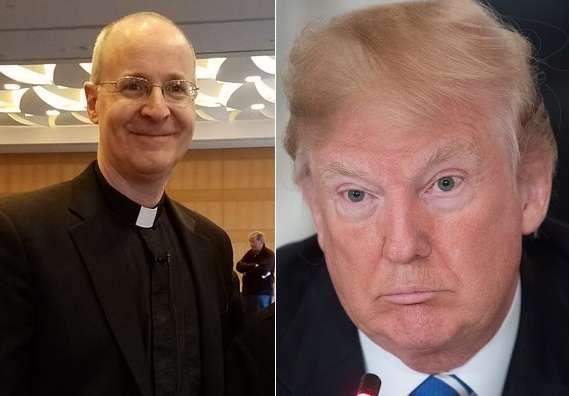 El sacerdote James Martin publicó su postura en Twitter.