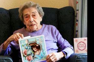 No bares ni relaciones sentimentales: El secreto de esta mujer para llegar a 106 años