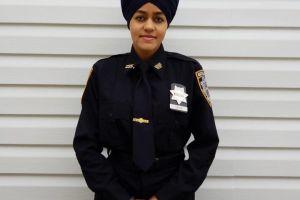 Una mujer india americana hace historia en el Departamento de Policía de Nueva York
