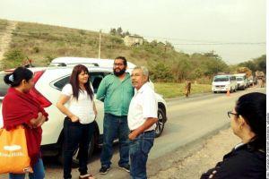 Nestora Salgado exige a Meade que demuestre que ella es secuestradora