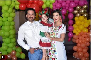 Ana Patricia Gámez festejó los 3 años de Giulietta al estilo mexicano