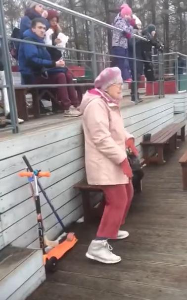 Esta abuela bailando te hará querer ser tan bueno como ella