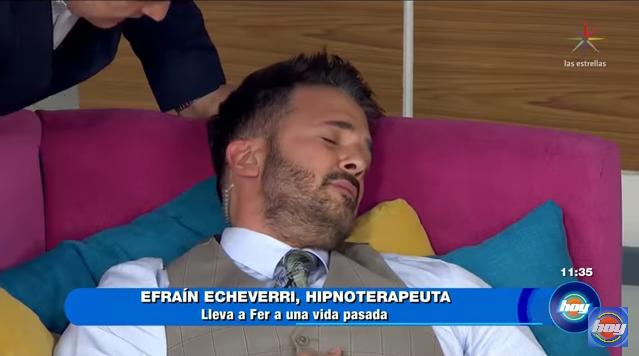 Video: Esto sucedió cuando hipnotizaron a Fernando del Solar en 'Hoy'