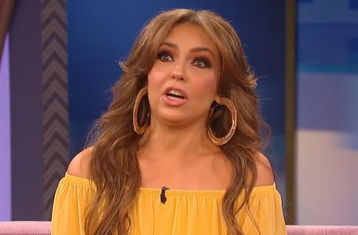 Thalía en el programa de Wendy Williams