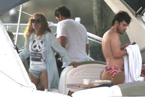 Sorprenden a Paulina Rubio con su nuevo novio ¡24 años menor que ella!