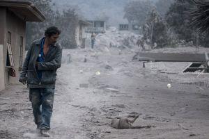 San Miguel Los Lotes, la aldea que desapareció tras la erupción del volcán de Fuego en Guatemala