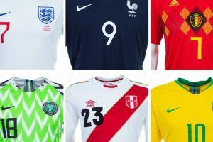 Mundial Rusia 2018: Conoce las 32 camisetas de los equipos participantes
