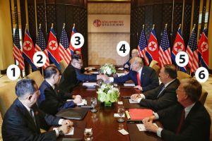 Cumbre Trump-Kim: conozca las seis personas detrás de la histórica reunión de EEUU y Corea del Norte