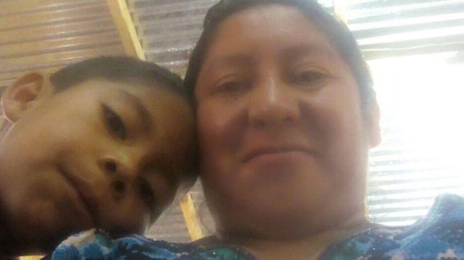 Beata Mejía Mejía, la madre guatemalteca que demandó a Trump por separarla de su hijo