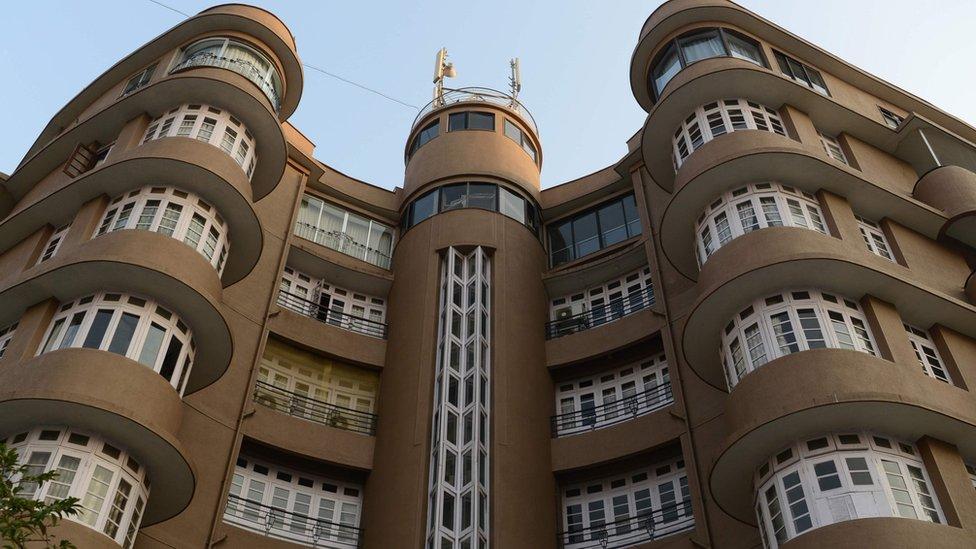 Los edificios Art déco de Bombay entraron en la lista.