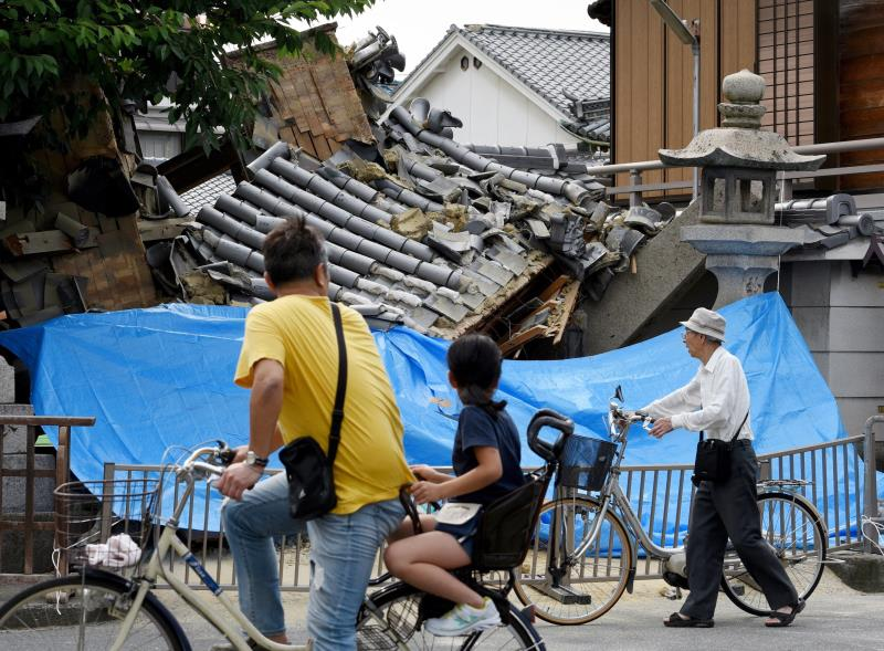 VIDEOS: Así se vivió el terremoto que sacudió a Japón