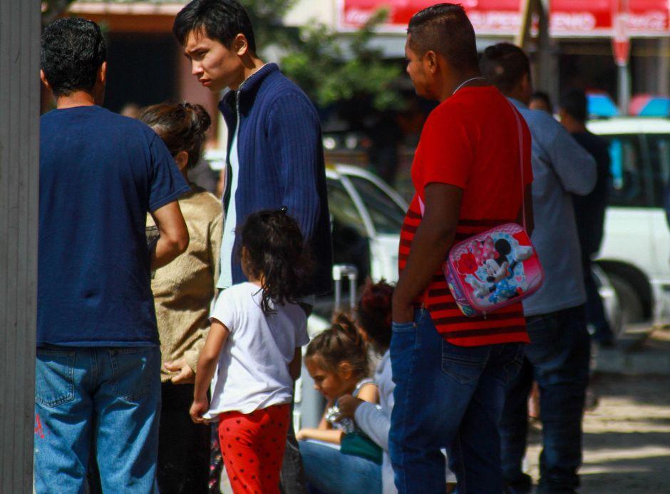 Orden de juez federal da respiro a centenares de solicitantes de asilo en la frontera sur