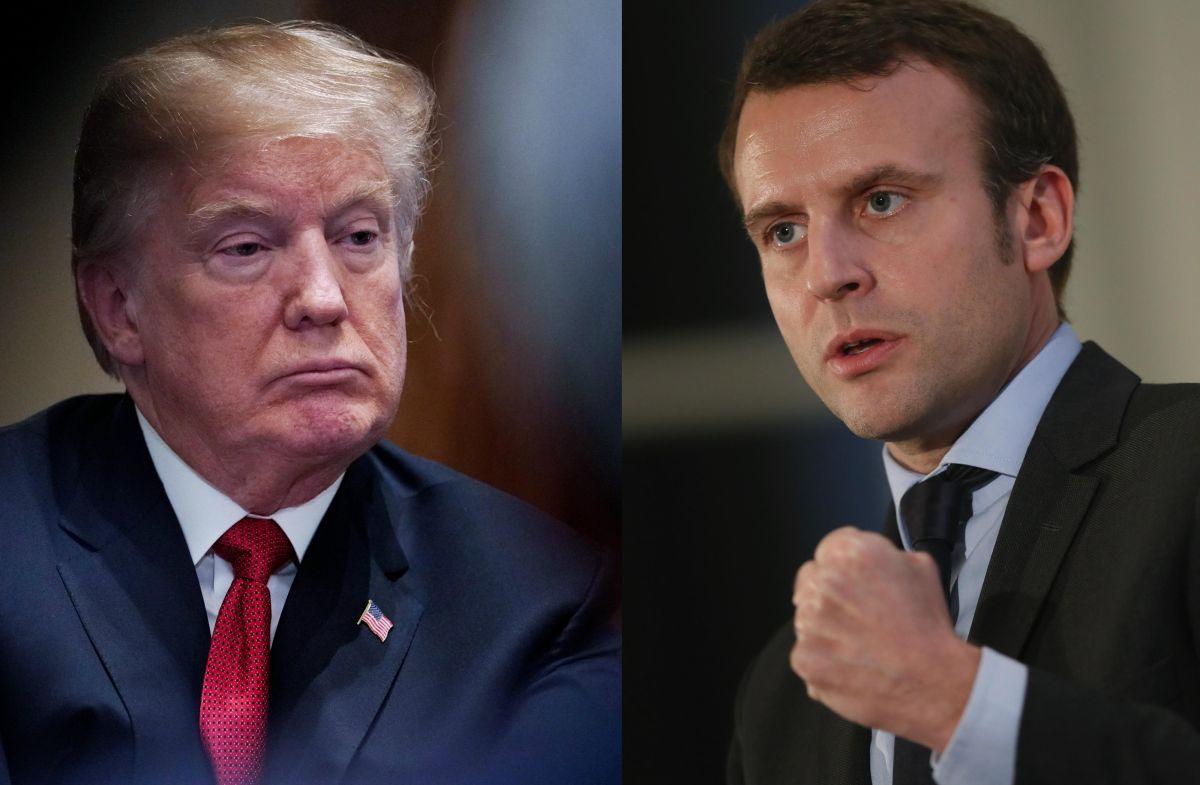 Macron le hace una recia advertencia a Trump con miras a cumbre del  G7