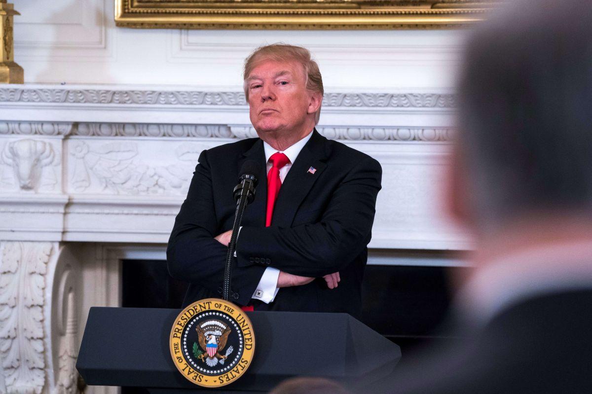 El presidente Trump enfrenta críticas por su política contra niños.