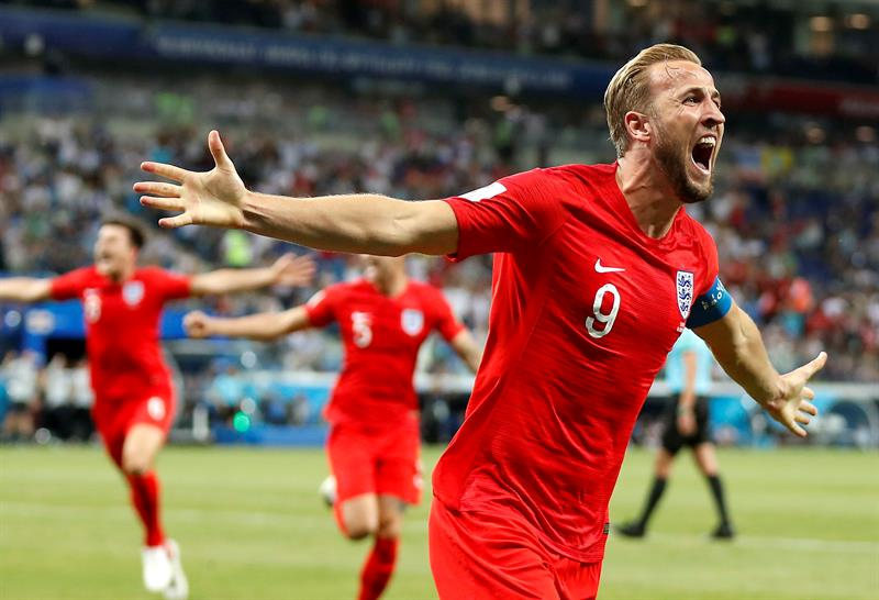 Doblete de Harry Kane salva a Inglaterra en su debut en Rusia