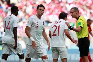 Este polémico árbitro habría intentado conseguir la camiseta de Cristiano Ronaldo