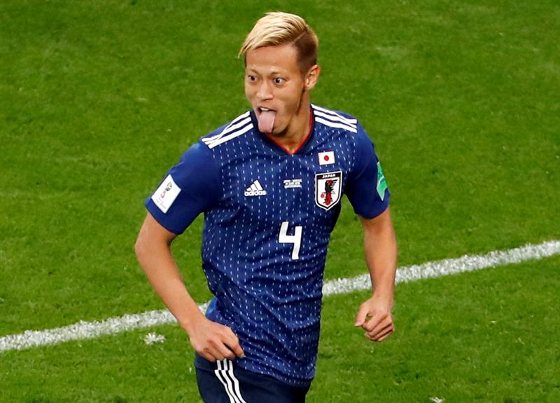 Tuzos del Pachuca celebran la gloria de Keisuke Honda con Japón en el Mundial