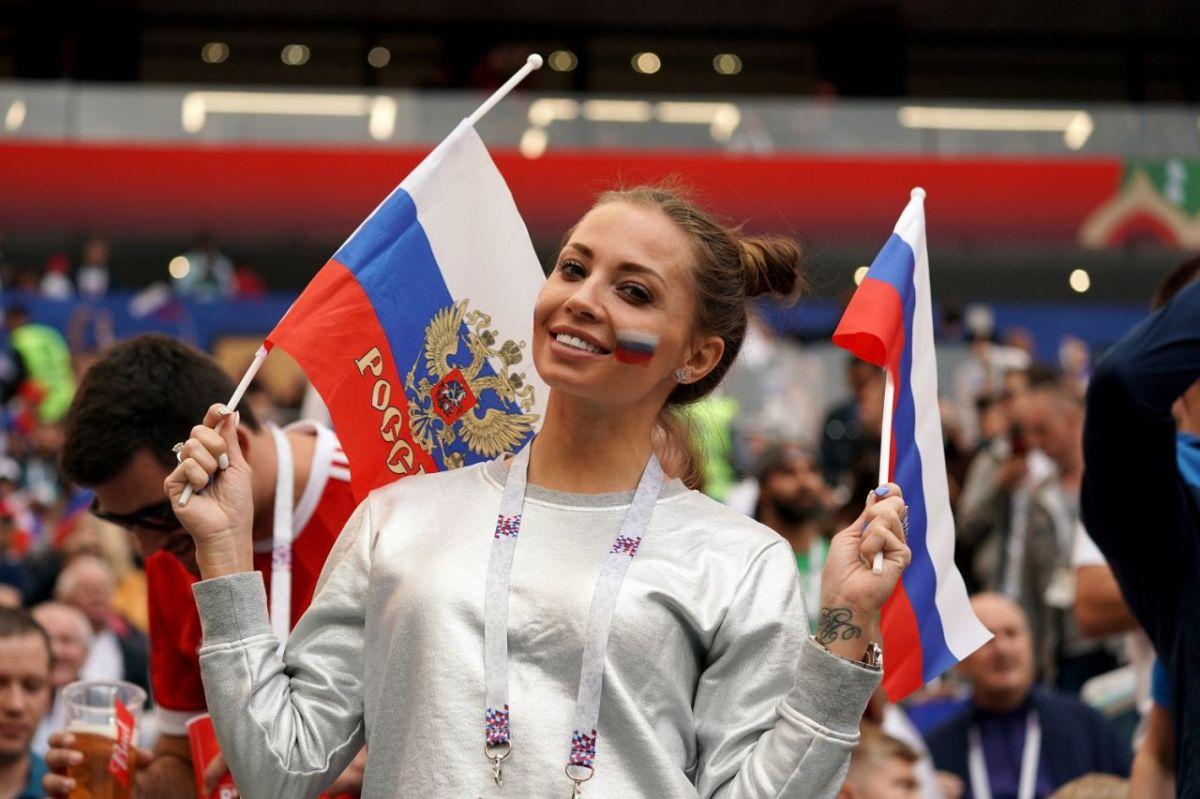 Rusia le da la bienvenida al mundo.