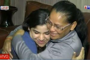 Video: Dio en adopción a su hija a pareja de EEUU y se reencuentran 22 años después