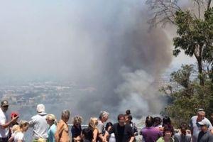 Incendio Aliso: Mantienen evacuaciones solamente en Laguna Beach