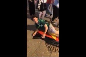 VIDEO: Youtuber mexicano simula sexo con bandera alemana y lo tunden en redes