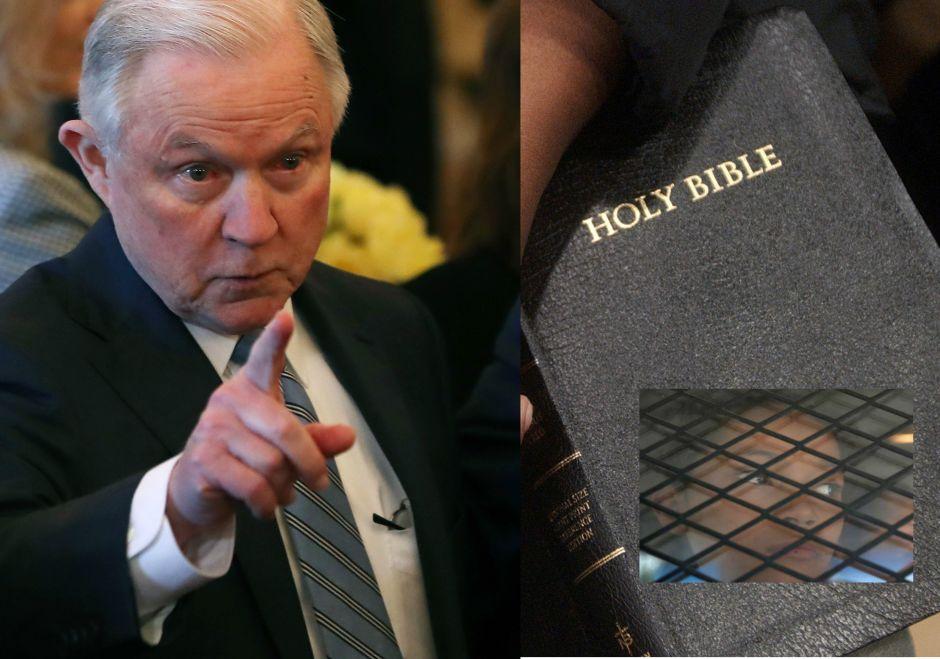 Video: Jeff Sessions usa verso de la biblia para defender la dura política migratoria de Trump