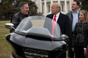 La advertencia de Trump a Harley-Davidson