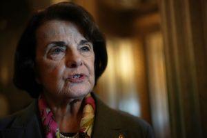 En la lucha por el senado federal, Feinstein avanza y su contrincante queda por decidir