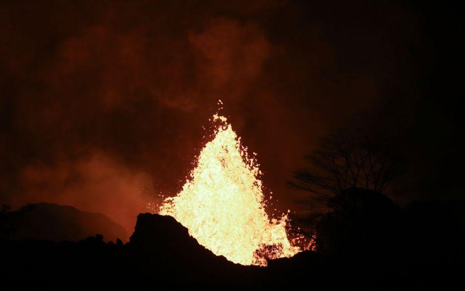 Foto: Así se ve la erupción del volcán Kilauea desde el espacio