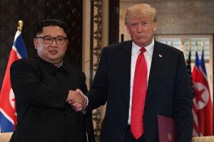Esto fue lo que dijo el líder de Corea del Norte al inicio de su histórica cumbre con Trump