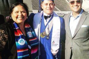 Jaime Camil celebra graduación de jóvenes latinos con discurso en Boyle Heights