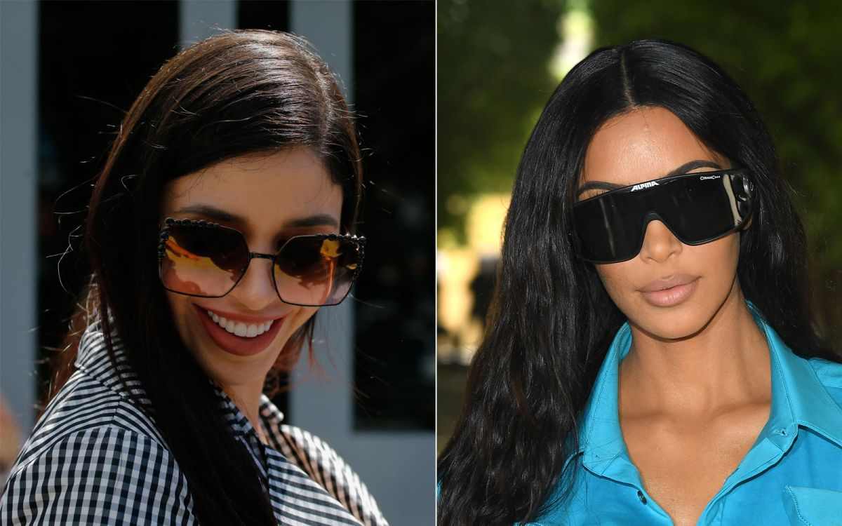 Kim Kardashian y Emma Coronel.