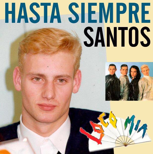 Falleció integrante del grupo Locomía: Santos Blanco