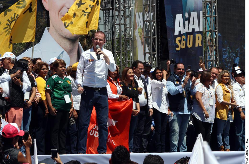 Anaya cierra campaña en la Ciudad de México
