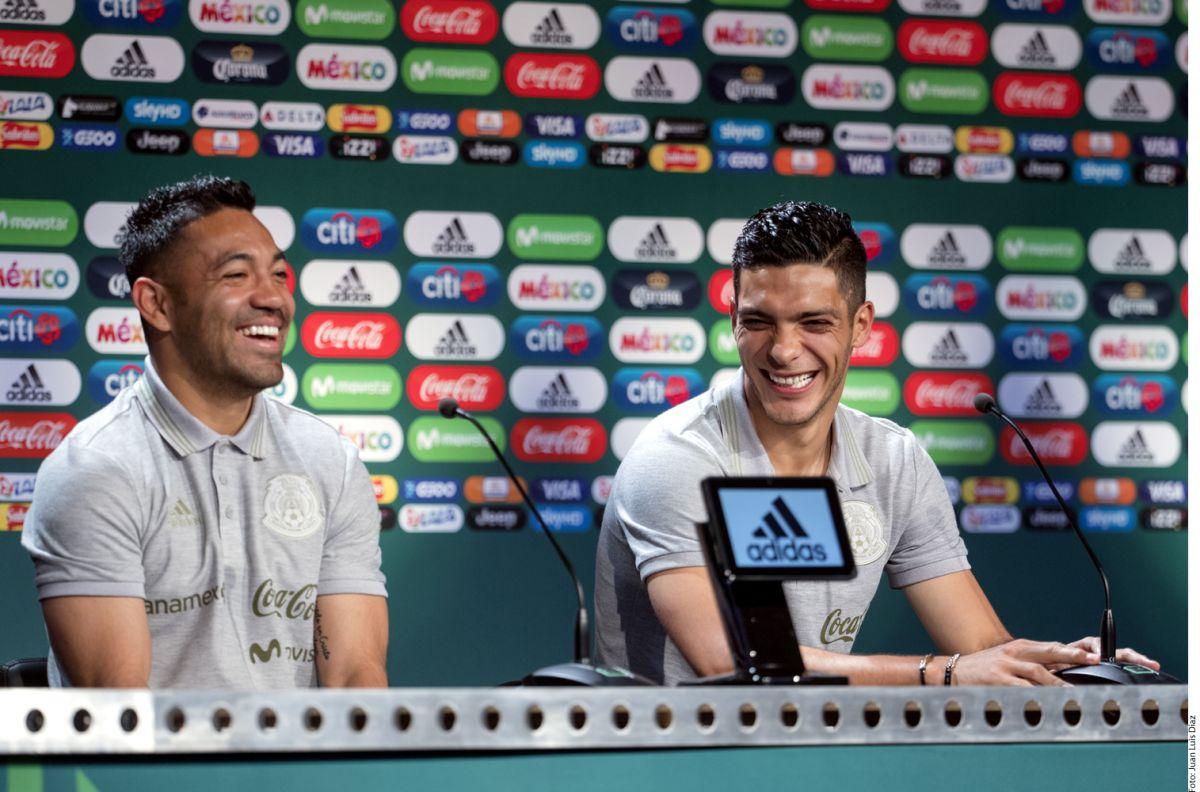 Raúl Jiménez y Marco Fabián confían en que México logre los nueve puntos en la fase de grupos