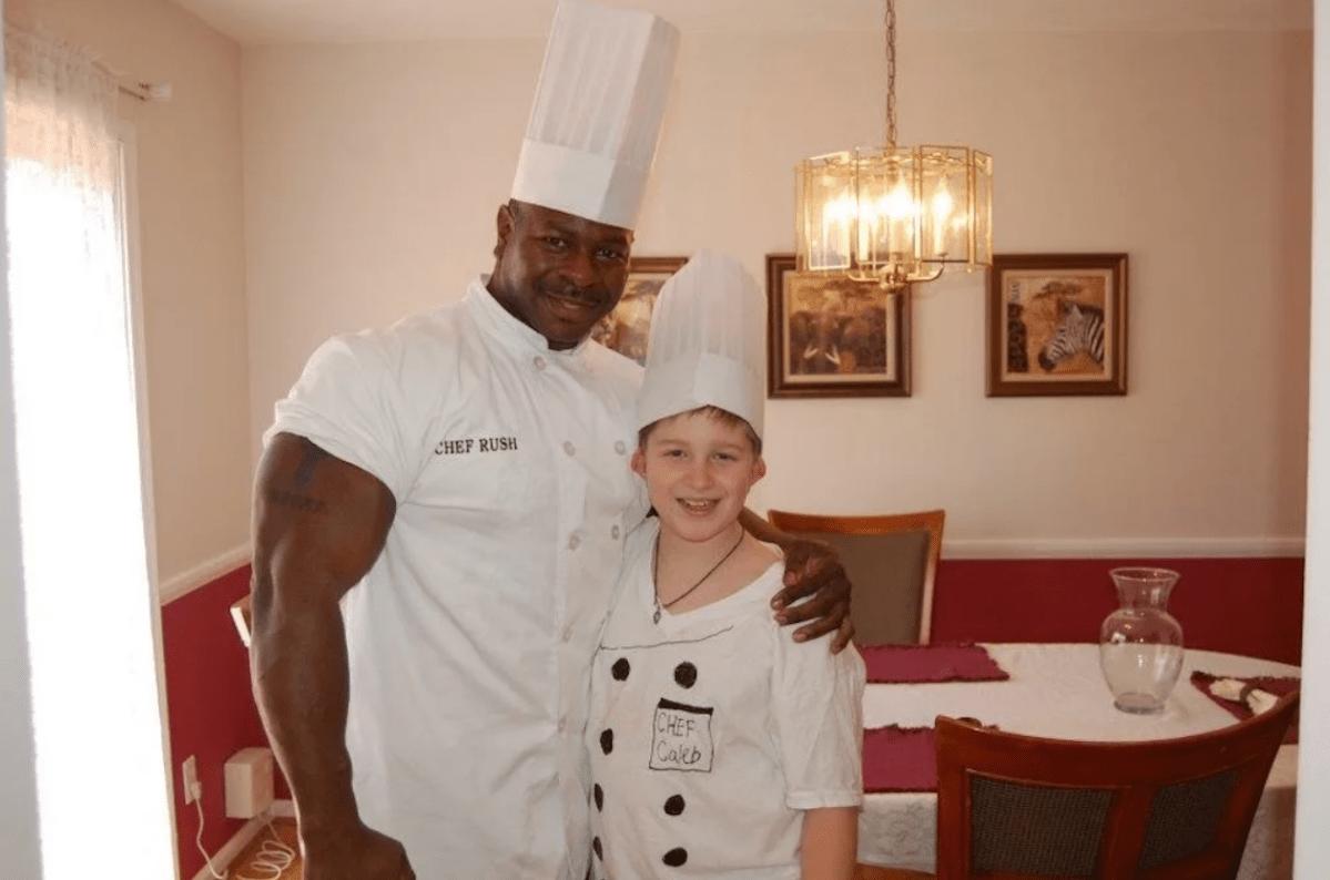 El chef de la Casa Blanca demuestra que el tamaño en la cocina sí importa.
