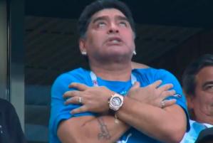 VIDEO: El rostro poseído de Maradona en el gol de Messi ante Nigeria