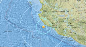 México: Registran sismo de magnitud 5.9 frente a la costa de Jalisco