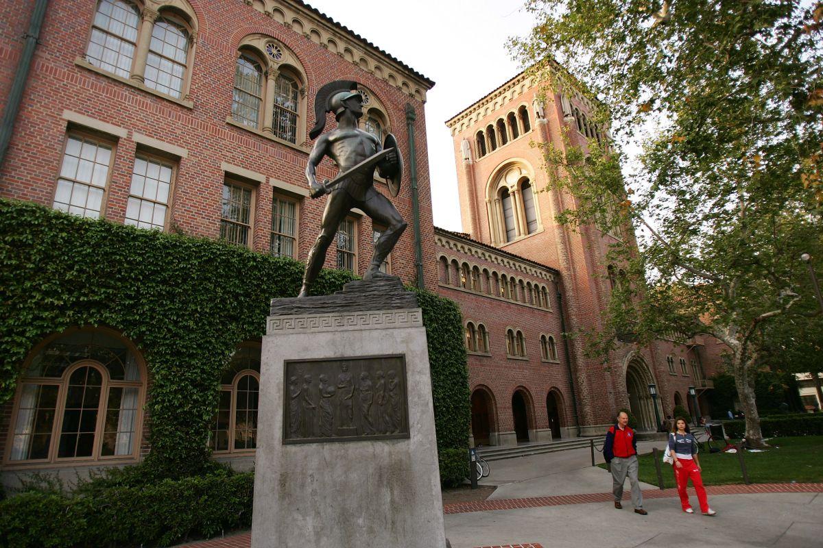 El campus de la Universidad del Sur de California (USC).