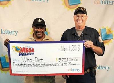 21 veteranos de L.A. se repartirán este premio de Mega Millions.