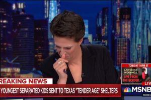 Famosa periodista rompe en llanto en vivo al hablar sobre los niños inmigrantes enjaulados