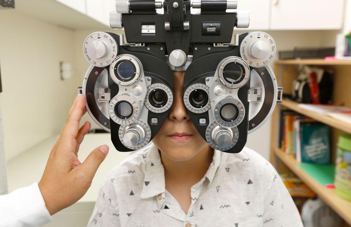 Exámenes de la visión gratuitos para niños en el este de Los Ángeles