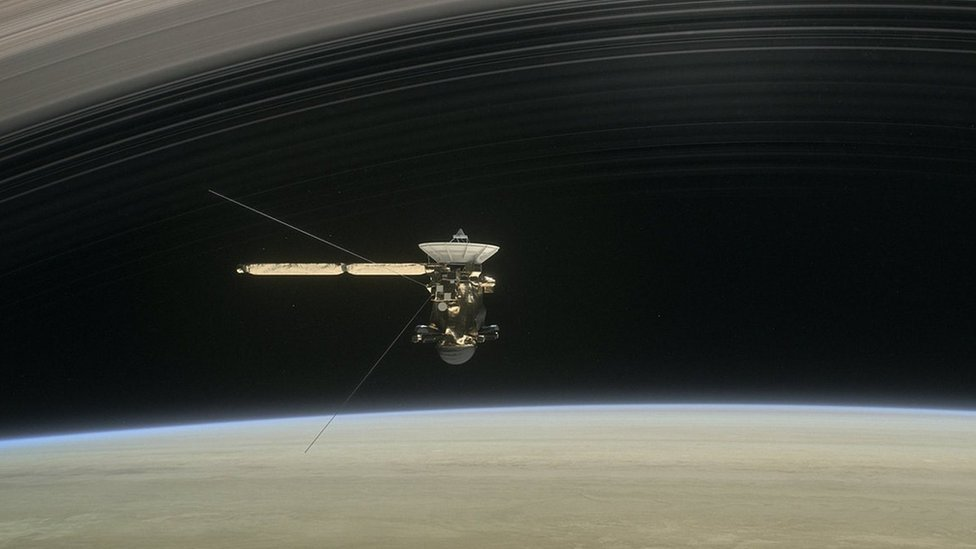 Audio: Escucha el sonido sobrenatural que describe la relación entre Saturno y una de sus lunas