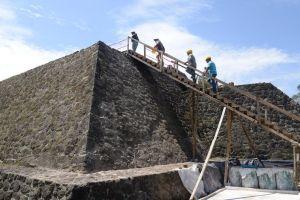 Hallan una pirámide escondida dentro de otra en México tras el terremoto de 2017