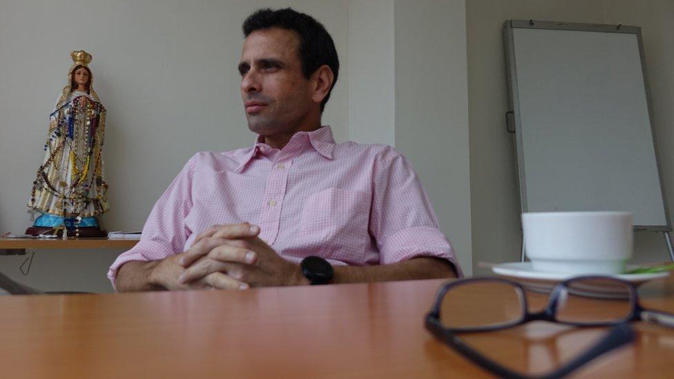 """Entrevista a Henrique Capriles: """"La gran interrogante es si el venezolano se va a quedar de rodillas, resignado"""""""