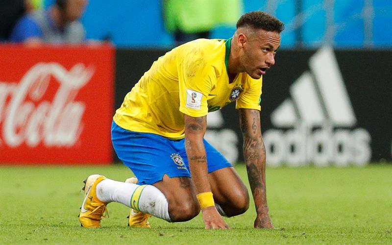 Neymar quedó a deber en el Mundial de Rusia 2018